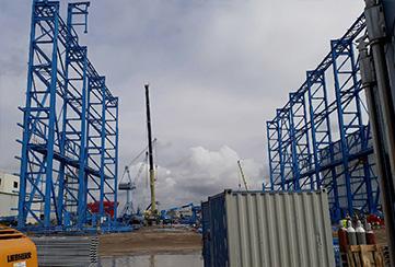 Neptun Werft Rostock Niemcy - konstrukcja